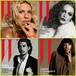 Claire Danes & Julianne Moore are 'W' Mag's Royals!