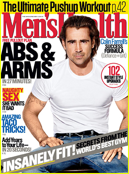 Colin Farrell Tells 'Men's Health' He Is 'Okay' With Being Single