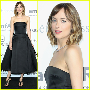 Dakota Johnson Glams Up for amfAR Milano Gala 2015