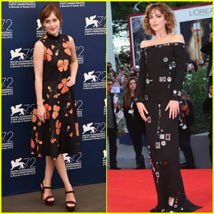 Dakota Johnson 'Splashes' into the Venice Film Festival 2015