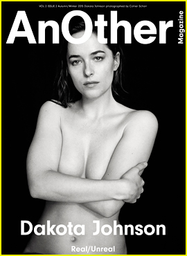 Dakota Johnson Goes Topless For Her 'Another' Mag Cover!