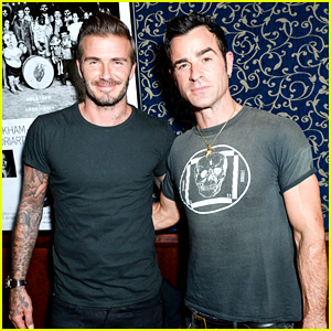 David Beckham & Justin Theroux Are Too Hot for One Picture