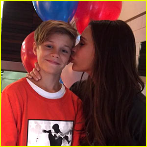David & Victoria Beckham Wish Son Romeo a Happy Birthday