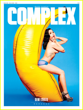 Demi Lovato Bares it All for 'Complex' Magazine Cover!