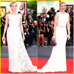 Diane Kruger & Elizabeth Banks Are Visions in White for 'Everest' Venice Premiere