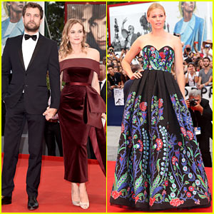 Diane Kruger Is a Total 'Boss' with Joshua Jackson in Venice