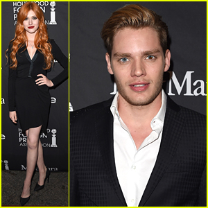 Dominic Sherwood Celebrates TIFF 2015 With 'Shadowhunters' Cast