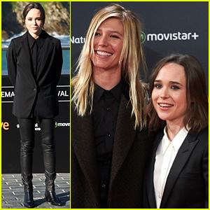 Ellen Page & Girlfriend Samantha Thomas Couple Up at 'Freeheld' Spain Premiere!