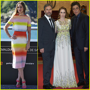 Emily Blunt Stuns at the San Sebastian Film Festival Premiere of 'Sicario'