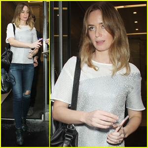 Emily Blunt Addresses Rumors Michael Buble Cheated on Her