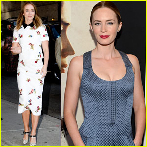Emily Blunt & Josh Brolin Premiere 'Sicario' at the Museum of Modern Art