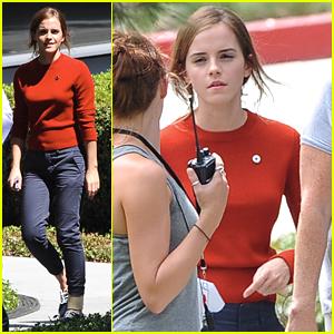 Emma Watson Starts Work On 'The Circle'