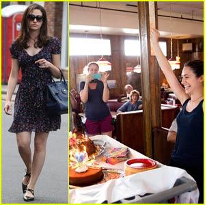 Emmy Rossum Celebrates Her Birthday on 'Shameless' Set