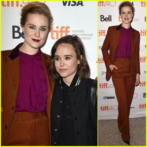 Evan Rachel Wood & Ellen Page Pair Up for 'Into the Forest' Premiere at TIFF 2015