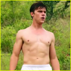 Finn Wittrock Goes Shirtless in 'My All American' Trailer!