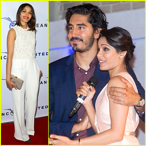 Freida Pinto & Dev Patel Reunite for a Good Cause