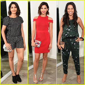 Freida Pinto, Jenna Dewan & Rosario Dawson Celebrate The A List 15th Anniversary!