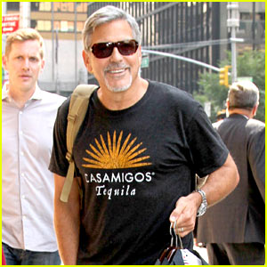 George Clooney Helps Colbert Premiere 'The Late Show' Tonight