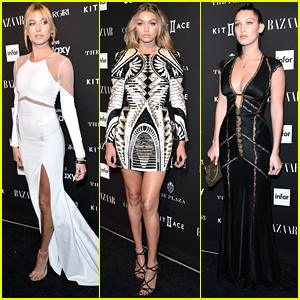 Hailey Baldwin & The Hadid Sisters Are Harper's Bazaar's ICONS