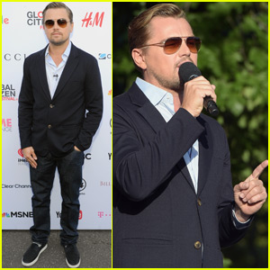 Leonardo DiCaprio Takes The Stage at Global Citizen Festival 2015