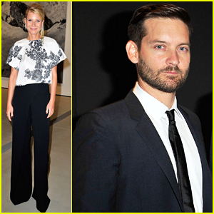 Gwyneth Paltrow Celebrates The Broad Museum Opening with Tobey Maguire & Owen Wilson!