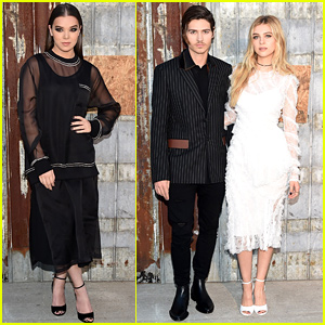 Nicola & Will Peltz Have a Siblings Night at Givenchy Show with Hailee Steinfeld!