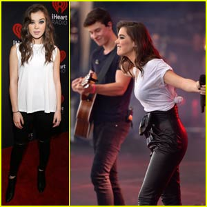 Hailee Steinfeld & Shawn Mendes Team up for 'Stitches' Duet at iHeartRadio Music Festival 2015 (Video)
