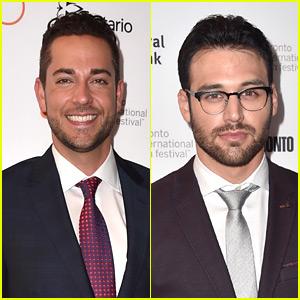 Zachary Levi & Ryan Guzman Suit Up for 'Heroes Reborn' TIFF Premiere