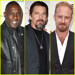 Idris Elba, Ethan Hawke & Ben Foster Hit TIFF For Their Premieres!