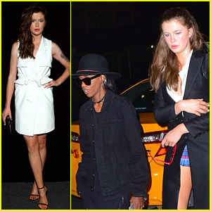 Ireland Baldwin & Ex Angel Haze Attend Same NYFW Party - Just As Friends!