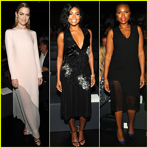 Jaime King & Gabrielle Union Support Prabal Gurung at His NYFW Show!