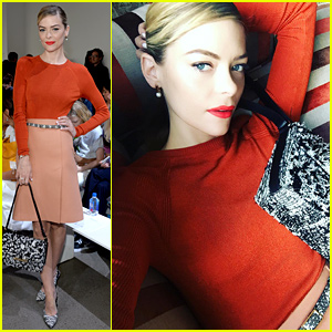 Jaime King Supports the 'F-Ing Brilliant' Jason Wu at NYFW
