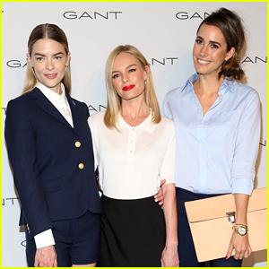 Jaime King & Kate Bosworth Begin NYFW 2015 with Gant