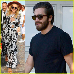 Jake Gyllenhaal, Diane Kruger, & More Stars Arrive for Venice Film Festival