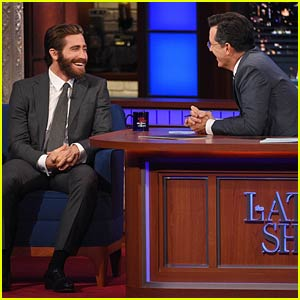 Jake Gyllenhaal Responds to Amy Schumer Eating His Cake on 'Colbert' (Video)