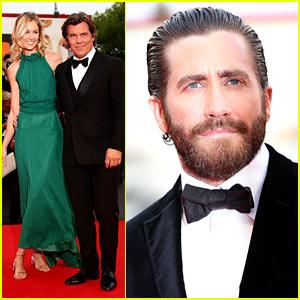 Jake Gyllenhaal & Josh Brolin Premiere 'Everest' in Venice!