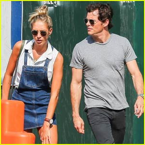 James Marsden Spends Time With British Singer Edei in NYC