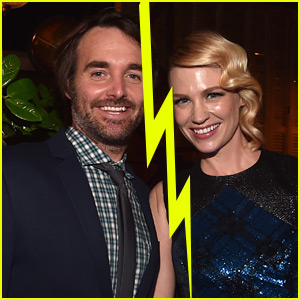 January Jones & Will Forte Split After 5 Months of Dating