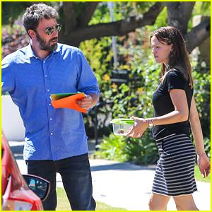 Ben Affleck & Jennifer Garner Spend Sunday with Their Kids