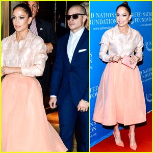 Jennifer Lopez Shows Her Support for Gender Equality With Casper Smart