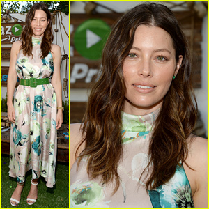 Jessica Biel's New Kid-Friendly Restaurant 'Au Fudge' Hosts Family Fun Day!