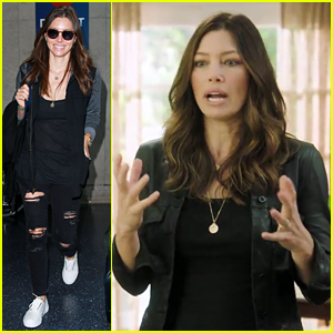 Jessica Biel Jokes About Condoms in New 'Funny Or Die' Clip