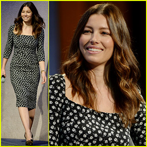 Jessica Biel Speaks for 'Then Who Will' Campaign at Clinton Global Initiative