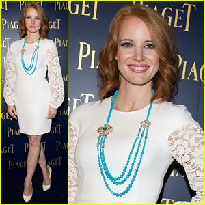 Jessica Chastain Gushes Over Chris Hemsworth: 'He's a Greek God!'