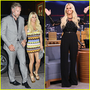 Jessica Simpson Talks Celebrating 10-Year Anniversary of Fashion Brand on 'The Tonight Show'!