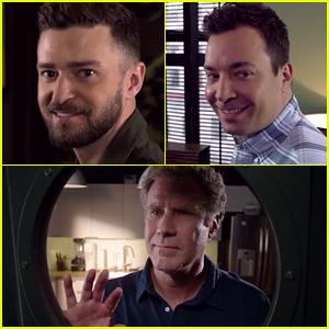 Justin Timberlake & Jimmy Fallon Communicate with Longing 'Looks' - Watch Now!