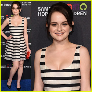 Joey King Keeps 'Going In Style' on the Red Carpet