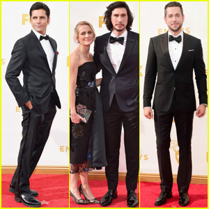 John Stamos & Zachary Levi Suit Up For the Emmys 2015