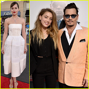 Dakota Johnson Is a Balenciaga Beauty at 'Black Mass' Boston Premiere!