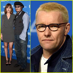 Johnny Depp & Dakota Johnson Step Out for 'Black Mass' TIFF Photo Call!